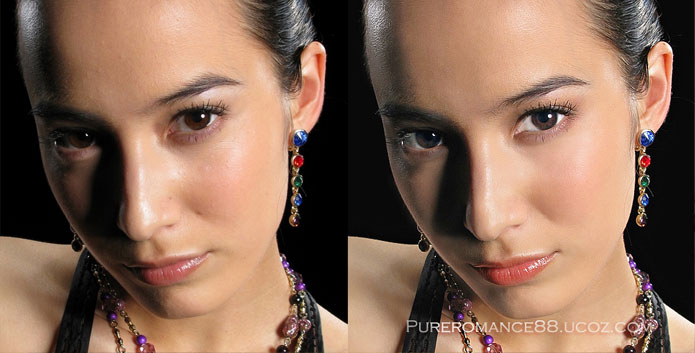 Photoshop æfing – Portrait retouch